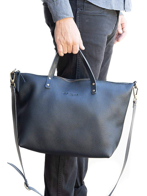 Leather Tote Bag, Vega