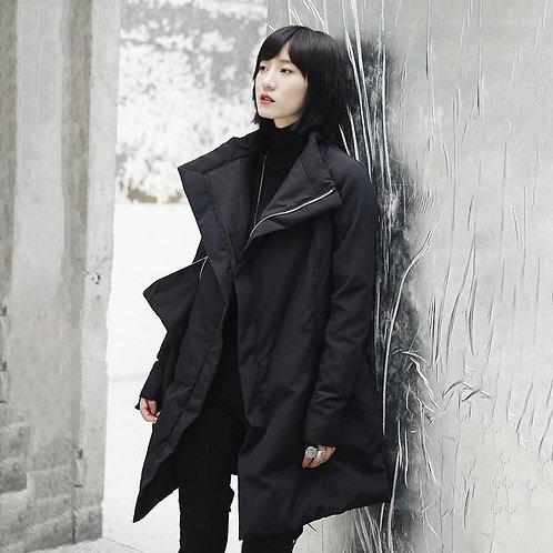 Masato Stand Collar Pocket Coat