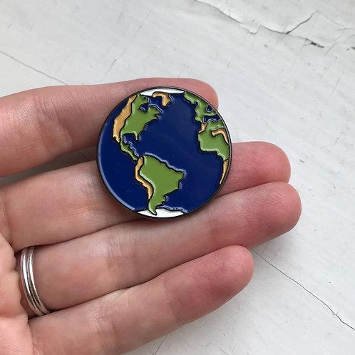 Earth Enamel Pin