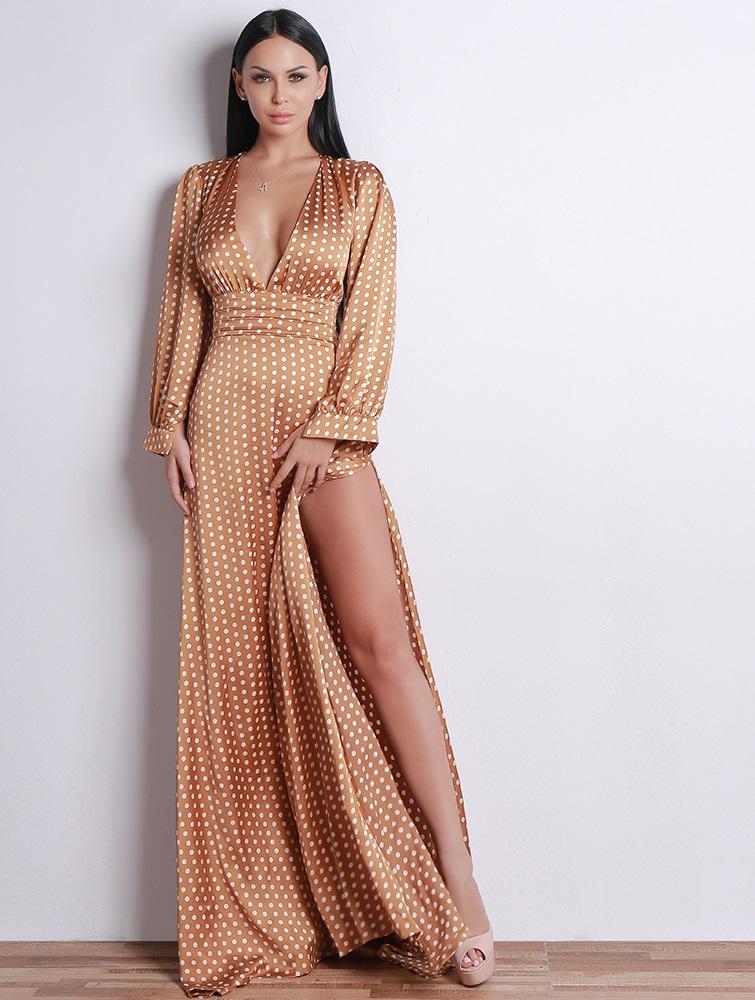 Hayley_tan_polka_dot_dress_2