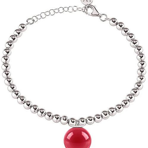 Morellato Boule Stainless Steel Bead Chain SALY23 Women's Bracelet.