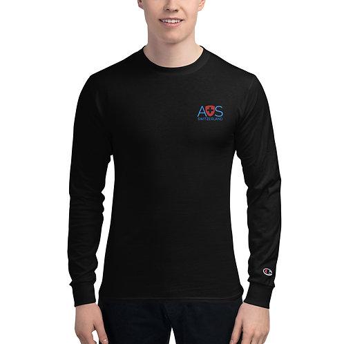AVICII SWISS Collaboration with Champion Long Sleeve Shirt