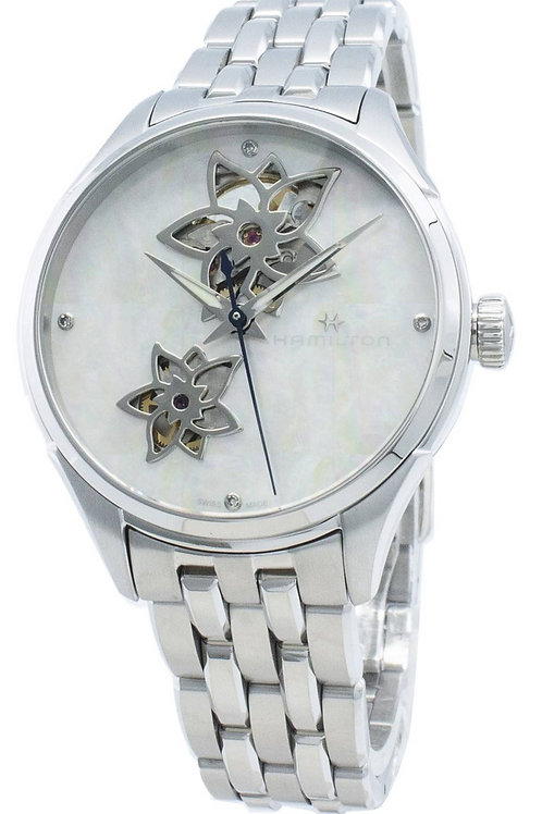 Hamilton Jazzmaster H32115192 Diamond Accents Automatic Women's Watch.