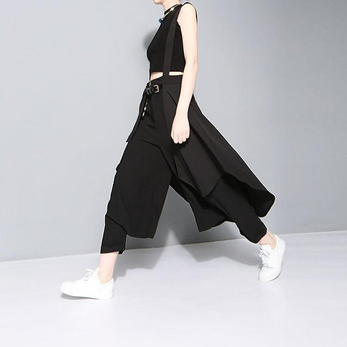 Alcalay Suspender Skirt