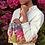 Thumbnail: Designer Zipped Party Clutch, Ultra Slim Modern Clutch with Tassel, Boho Women