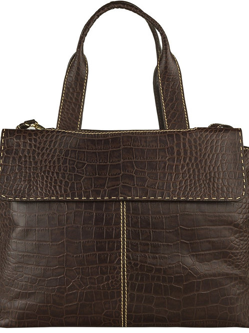 Women's Leather Laptop Work Bag