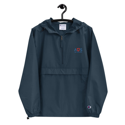 Embroidered AVICII SWISS-Champion Collaboration Packable Jacket