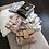 Thumbnail: Betty Shoulder Bag -Clear/White