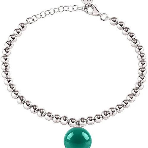 Morellato Boule Stainless Steel Bead Chain SALY20 Women's Bracelet.