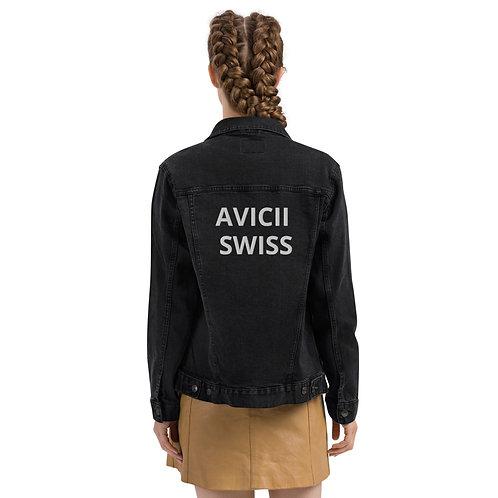 AVICII SWISS Unisex denim jacket
