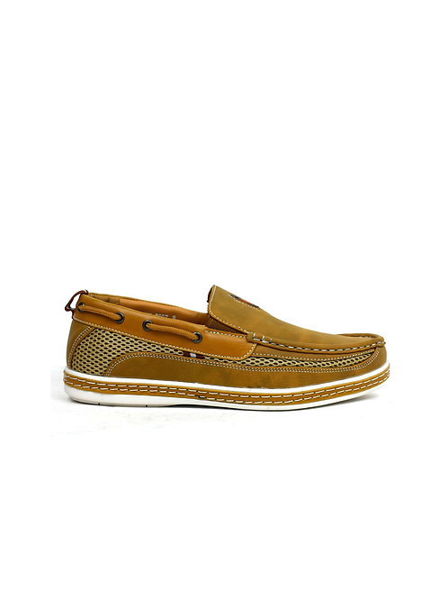 Carson Boat Shoes Tan