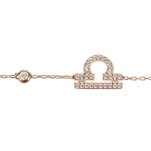 Zodiac Horoscope Star Sign Bracelet Libra