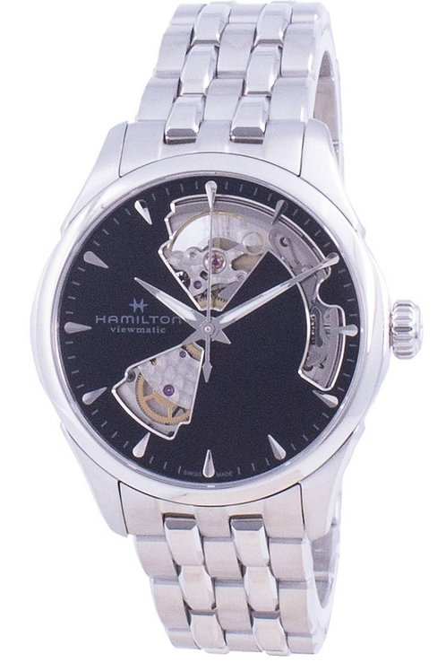 Hamilton Jazzmaster Viewmatic Open Heart Automatic H32215130 Women's Watch.