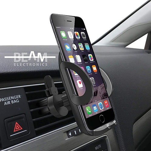 Beam Electronics Car Phone Mount Holder Universal Phone Car Air Vent Mount Hold
