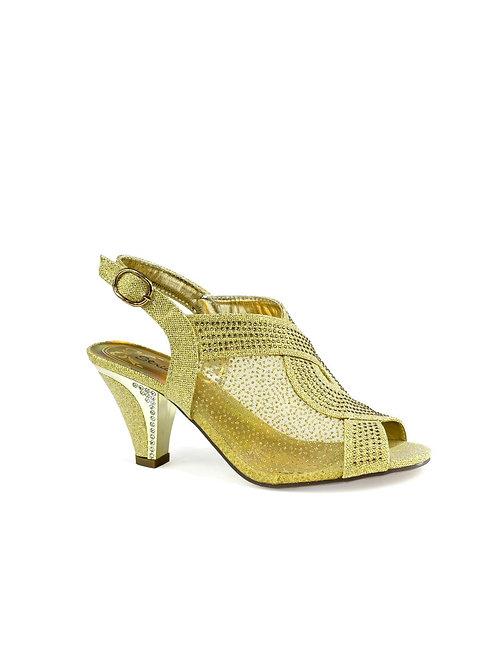 Maxine Net Heel Gold