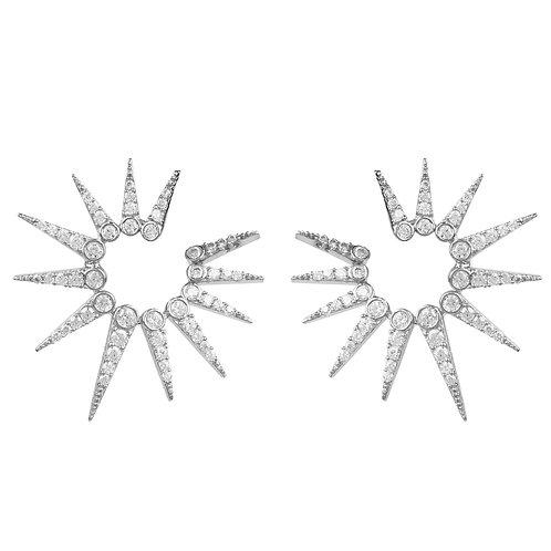 Supernova Spikey Ear Jacket Silver