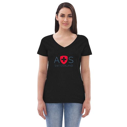 AVICII SWISS Women's recycled v-neck t-shirt