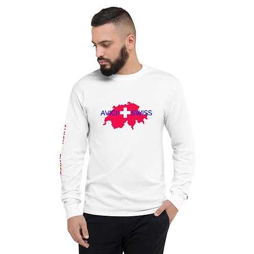 Men's AVICII SWISS Collaboration with Champion Long Sleeve Shirt