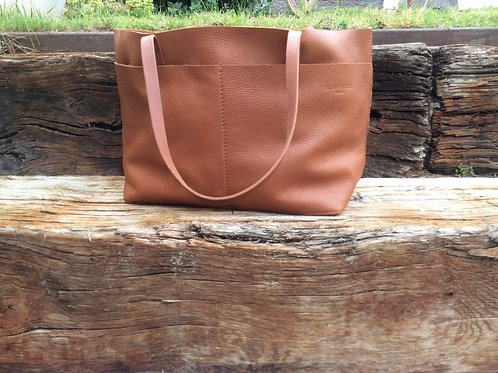 Full Grain Leather Totebag. Handmade With the Highest Quality