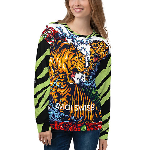 AVICII SWISS Tiger Unisex Sweatshirt
