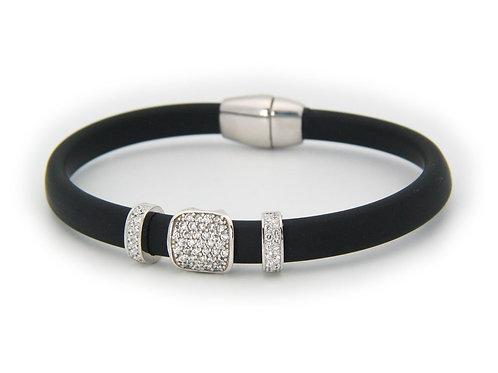 London Black CZ Bracelet