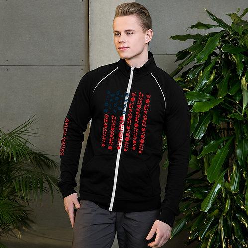 AVICII SWISS Piped Fleece Jacket