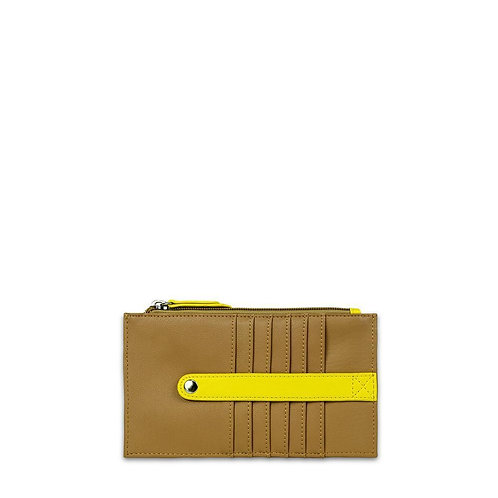 Amelia Leather Wallet-Cinnamon