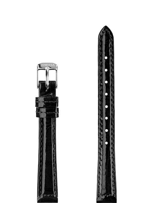 Leather Watch Strap Glossy Croco E3.1445.S  AVICII SWISS