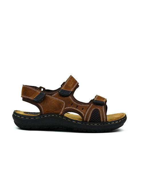 Men's Strappy Leather Sandals