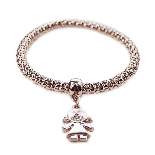 Qidz Bracelet- Girl Rose Gold
