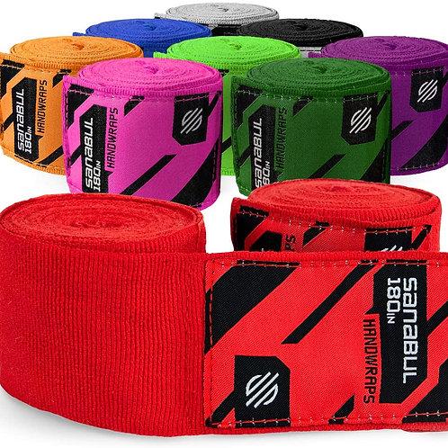 Elastic Professional 180 inch Handwraps for Boxing Kickboxing Muay Thai MMA