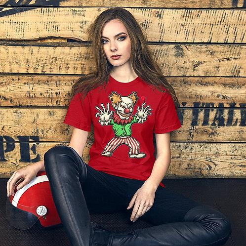 AVICII SWISS The Scary Clown Short-Sleeve Unisex T-Shirt