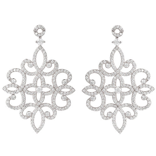 Sherazade Earrings Silver