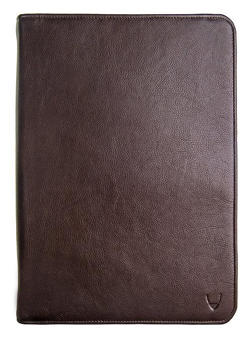 IMG iPad Leather Portfolio/Padfolio With Handmade Paper Notebook
