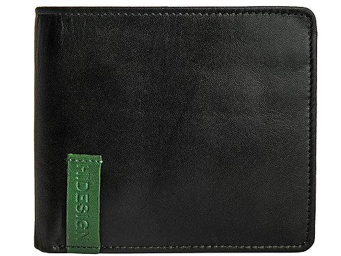 Dylan 04 Leather Slim Bifold Wallet