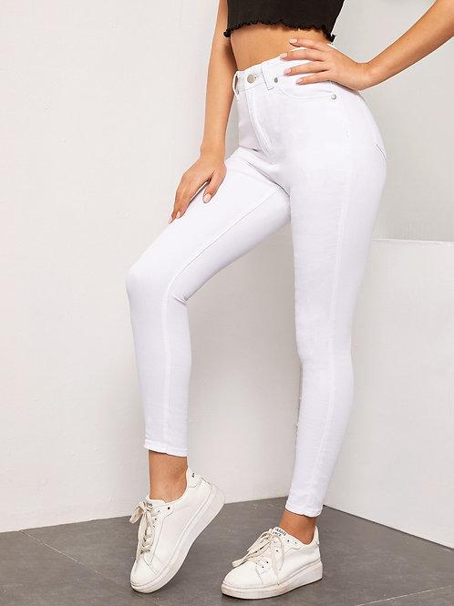 AVICII SWISS High Waist High Stretch Skinny Jeans Without Belt