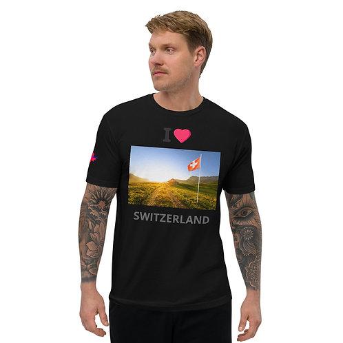 AVICII SWISS Short Sleeve T-shirt