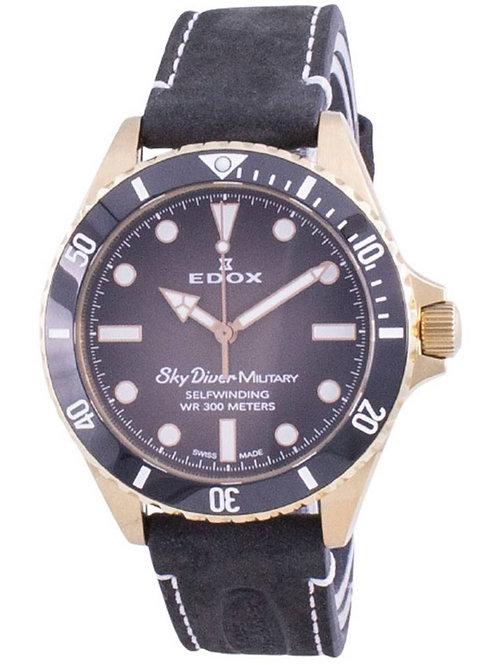 Edox Skydiver Military Limited Edition Automatic 80115BRZNNDR 80115 BRZN NDR 300