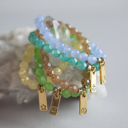 DIY Bar Charm Bracelet Kit