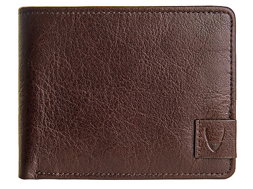 Vespucci RFID Blocking Buffalo Leather Slim Bifold Wallet