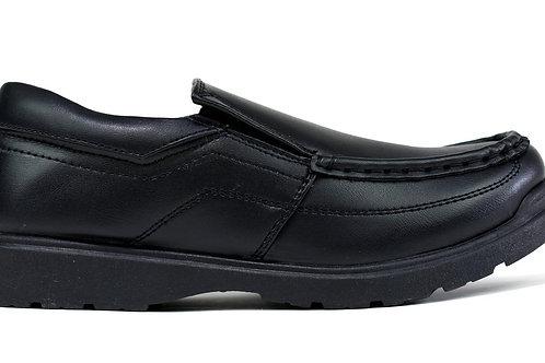 Boy's Slip on School Shoes Black