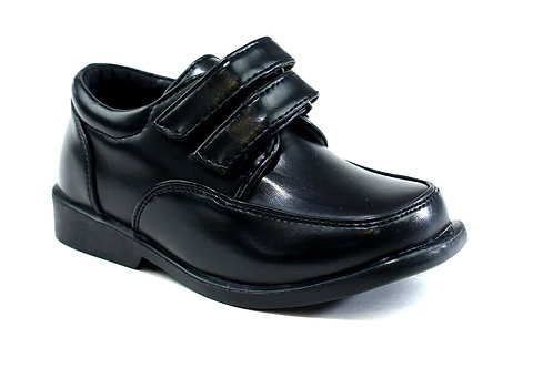 Balloo Light Double Strap Infant's Shoe Black