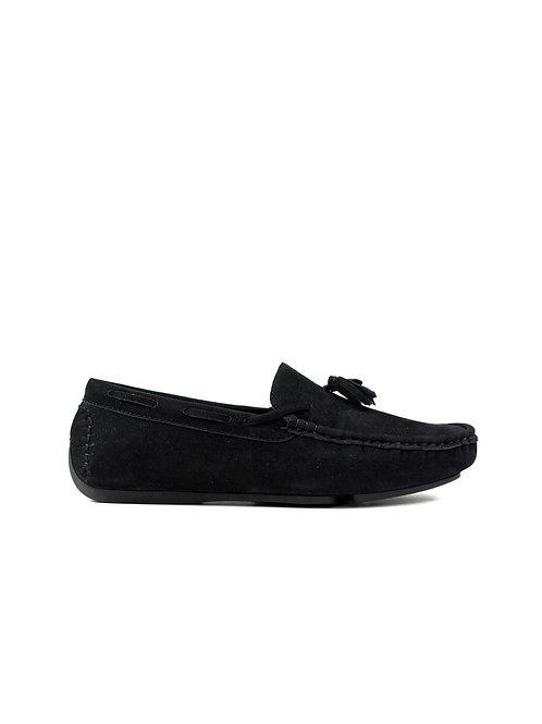 Tasselled Loafer Black
