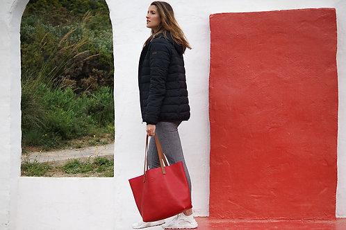 Leather Tote Bag - Bel