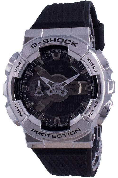 Casio G-Shock Black Dial GM-110-1A GM110-1 200M Men's Watch.