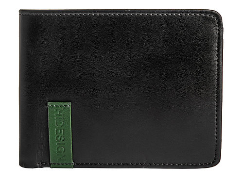 Dylan 05 Leather Multi-Compartment Trifold Wallet