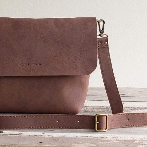 Leather Crossbody Bag - UN SAV