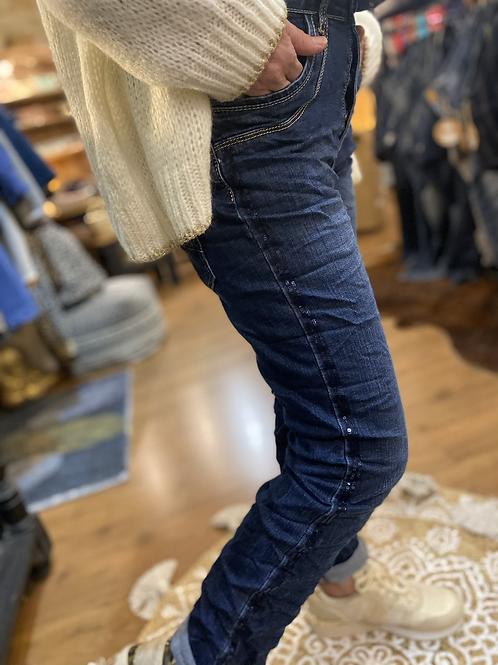Jeans glitter