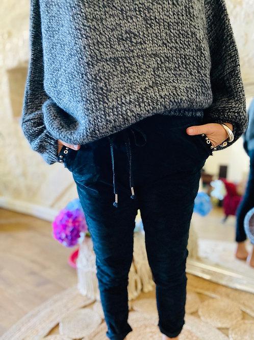 Pantalon Gilda noir