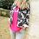 Thumbnail: Veste Marvi noire Tie & Dye